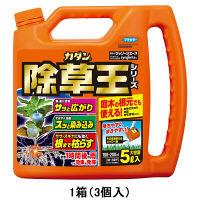 【園芸用品】ザッソージエース5L 1箱(3個入) フマキラー