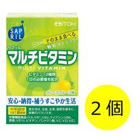 井藤漢方製薬 サプリル マルチビタミン 1セット(30日分×2箱) 60袋 栄養機能食品
