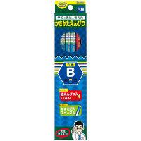 レイメイ藤井 先生オススメ かきかた鉛筆B(鉛筆11本+赤鉛筆1本)ブルー RE643 2箱(12本入×2箱)(直送品)