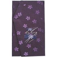 ササガワ タカ印 金封ふくさ 刺繍 佛用 紫 44-1231 5枚(1枚袋入×5枚箱入)(取寄品)