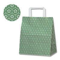 ヘイコー H25チャームバッグ S2 梅小紋 緑 003263501 1セット(50枚入×6束)(直送品)