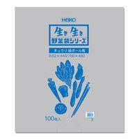 野菜袋 #20 キュウリ段ボール用 006721901 1セット(100枚入×10束)(直送品)