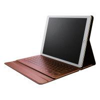 エレコム レザーBluetoothキーボード iPad Pro 12.9 TK-RC50I TK-RC50IBK 1個