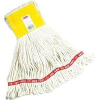 ニューウェルブランズ・ジャパン ラバーメイド クリーニングモップ ウェブフット Mサイズ ホワイト RMA15206WT 1袋 856-7372(直送品)