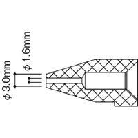 白光(HAKKO) 白光 ノズル/1.6MM N50B-06 1個 868-8336(直送品)