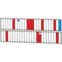 リヒトラブ(LIHIT LAB.) リヒト 回転標示盤(50口座) S2532 1台 855-9824 (直送品)