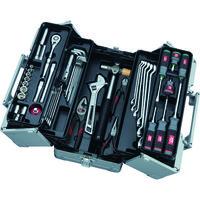 京都機械工具 KTC 工具セット(両開きメタルケースタイプ) SK3561W 1セット 859-4188(直送品)