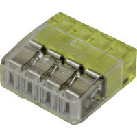 ニチフ端子工業 ニチフ 細線用差込コネクタ極数4 (30個入) QLX MC-4 1パック(30個) 831-4489(直送品)