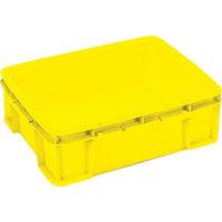 岐阜プラスチック工業 リス ST型コンテナーST-19C 黄 ST-19C Y 1個 836-2468 (直送品)
