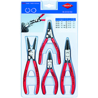 KNIPEX(クニペックス) KNIPEX 4本組 スナップリングプライヤー 002003V02 1セット 836-3368(直送品)