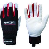 ミタニコーポレーション(MITANI) ミタニ 豚革手袋QUATRO(クアトロ) Lサイズ 209621 1双 836-5840(直送品)