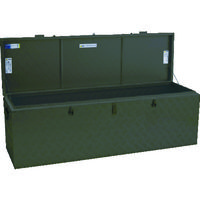 アルインコ(ALINCO) アルインコ 万能アルミ製BOX ODグリーン色 BXA150GR 1台 835-7658(直送品)