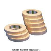 日東エルマテリアル(Nitto) 日東電工CS フィラメントテープ No.3885 19mm×50m ホワイト 3885-19 781-5182(直送品)