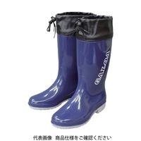 福山ゴム工業 福山ゴム 長靴 ガロア 5 ネイビー 23.0 GLA5NV-23.0 1足 835-4084(直送品)