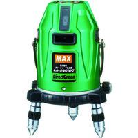 マックス(MAX) MAX グリーンレーザ墨出器 地墨・鉛直点・横全周360度 大矩クロス LA-S801DG 1台 835-4592 (直送品)