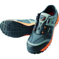 ジャパーナ IGNIO ダイヤル式セーフティシューズ A種 耐滑ローカットブラック25.0 IGS1037TGF-BK25.0 1足 855-9062(直送品)