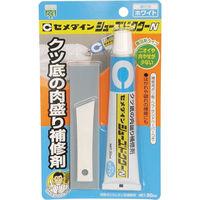 セメダイン シューズドクターN ホワイト P50ml HC-001 1個(50mL) 813-5111(直送品)