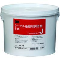スリーエム ジャパン(3M) コーニング ケーブル潤滑剤 3.8リットル J-38 1缶(3800mL) 817-9651(直送品)