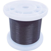 ニッサチェイン(NISSA CHAIN) ニッサチェイン 黒コーティングワイヤロープ 1.5mm×100m TSY15V-BK 825-5901(直送品)