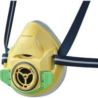 重松製作所 シゲマツ 防じん・防毒マスク TW01SC イエロー M TW01SC-YE-M 1個 835-6583(直送品)