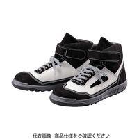 青木安全靴製造 青木安全靴 ZR-21BW 24.5cm ZR-21BW-24.5 1足 855-9157(直送品)