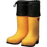 シバタ工業(SHIBATA) SHIBATA 防寒安全長靴 セーフティベアー#1001白熊(イエロー) AC091-22.0 1足 856-9194(直送品)