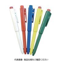 バーテック バーキンタ ボールペン J802 本体:緑 インク:赤 BCPN-J802 GR 66216901 856-3137(直送品)