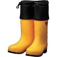 シバタ工業(SHIBATA) SHIBATA 防寒安全長靴 セーフティベアー#1001白熊(イエロー) AC091-28.0 1足 856-9200(直送品)