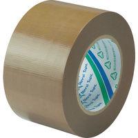 リンレイテープ 包装用PEワリフテープ EF671 75×50 茶色 EF671-75X50 1巻(50m) 855-6025(直送品)