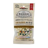 ドギーマン 無添加良品 8種の国産野菜MIXボーロ 50g [1307]