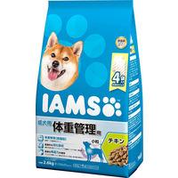 IAMS(アイムス) 犬用 体重管理用 チキン 小粒 成犬用 2.6kg 1袋 マースジャパン