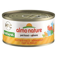 アルモネイチャー キャットフード 鶏肉のフィレ 70g 正規品 1缶