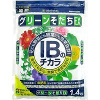 【園芸資材・肥料】花ごころ グリーンそだちEX 1.4kg 4977445054003 1セット(2個入)(直送品)