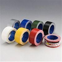 マクセル(maxell) 布カラーテープ 50X25M #0320 赤 NO.0320RE 1セット(250m:25m×10個)(直送品)
