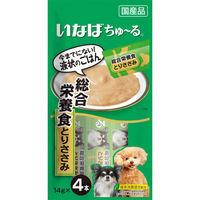 いなば ちゅーる 犬用 総合栄養食 とりささみ 国産(14g×4本) 1袋 <ちゅ~る>