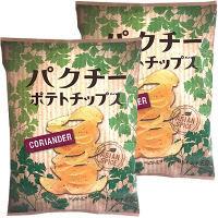 カルディコーヒーファーム オリジナル パクチーポテトチップス 60g 1セット(2袋)