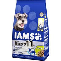 アイムス ドッグフード 11歳以上用 毎日の健康ケア チキン 小粒 2.6kg 1袋 マース