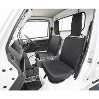 ボンフォーム ドライビングシート軽トラック用BKフロント2枚 2140-33BK(取寄品)