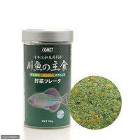 イトスイ 日本淡水魚用飼料 川魚の主食 野菜フレーク 60g 44082