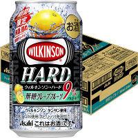 アサヒビール ウィルキンソンハード 無糖グレープフルーツ 350ml ×24缶