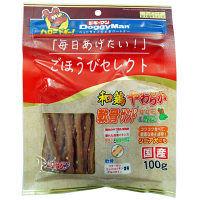 DoggyMan(ドギーマン) ドッグフード ご褒美セレクト 和鶏柔らか軟骨サンド ささみ&野菜 100g 1個