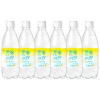 33eb518a3b99 友桝飲料 蛍の郷の天然水スパークリング レモン 500ml 1セット(6