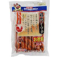 ドギーマン 鶏肉ソーセージ 20本入り 犬 おやつ 1個