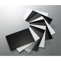 アズワン 塩化ビニル板 450×600×0.5t 黒 EB455-7 1枚 3-2165-09(直送品)