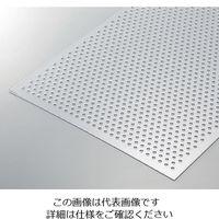 光(ヒカリ) 透明塩ビパンチング板 φ5.0mm穴 450×600×1t EB-4635-1 1枚 3-2170-03(直送品)