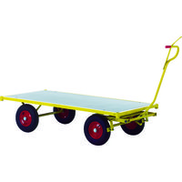 RAVENDO 大型重量運搬車 TW1500 穴ありハンドル 144004 1台 836-7727(直送品)