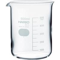 HARIO(ハリオ) HARIO ビーカー 目安目盛付 500ml B-500-SCI 1個 855-7567 (直送品)