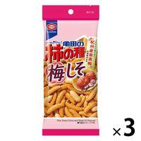 亀田の柿の種 梅しそパーソナル60g