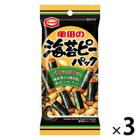 亀田製菓 海苔ピーパック 42g 3袋