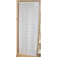 <LOHACO> アメージングクラフト 間仕切り断熱エコスクリーン(カット可能) ストライプ ホワイト 幅100×高さ250cm 1枚 (直送品)画像